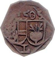 Pfennig 1505, Nachprägung, ca. Anfang 19. Jahrhundert.
