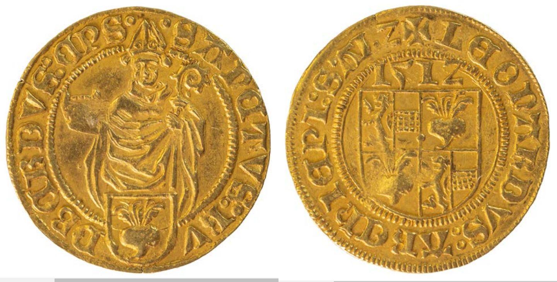 Goldgulden  1512, unediert.