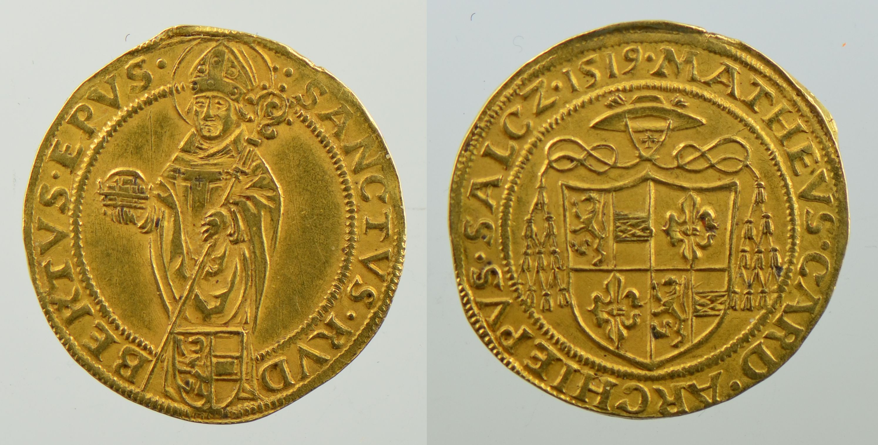 Goldgulden 1519, Schweizer Nationalmuseum