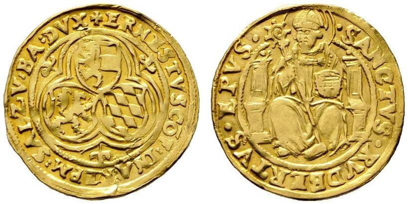Bild: Rauch Auktion 100: Goldgulden Ernst von Bayern
