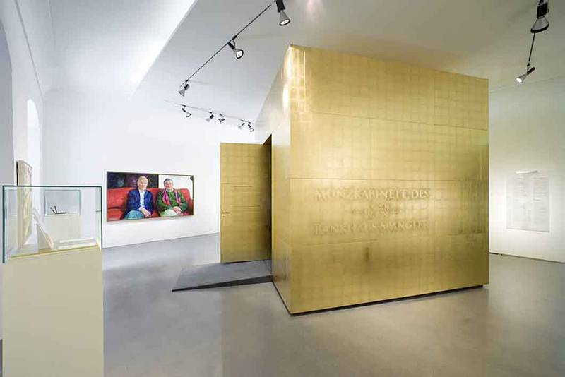 Der goldene Tresor im Salzburg Museum
