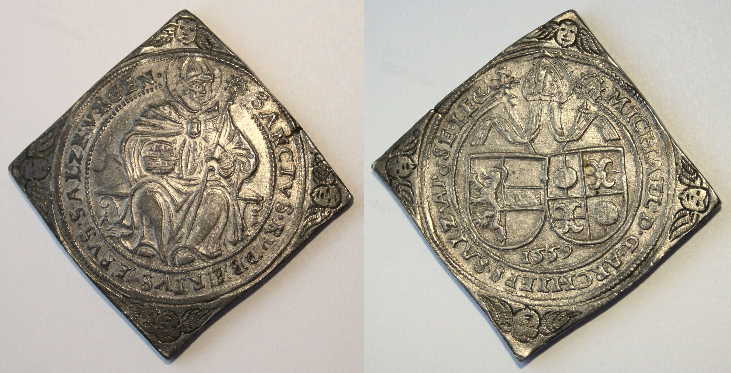 Guldinerklippe 1559, Münzkabinett Gotha, Inv. 3.2./5539. UNEDIERT!
