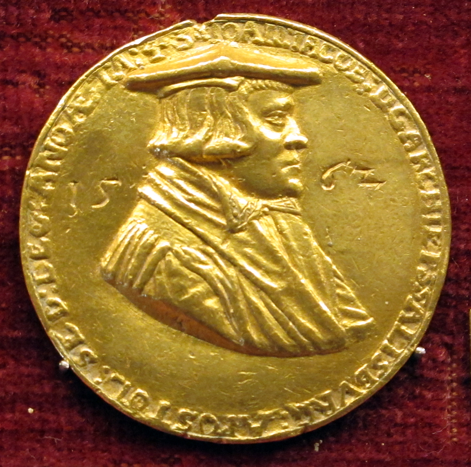 Medaille Johann Jakob Kuen Belasi 1562, FOTO: Sailko, LIZENZ:Creative Commons Attribution-Share Alike 3.0 Unported