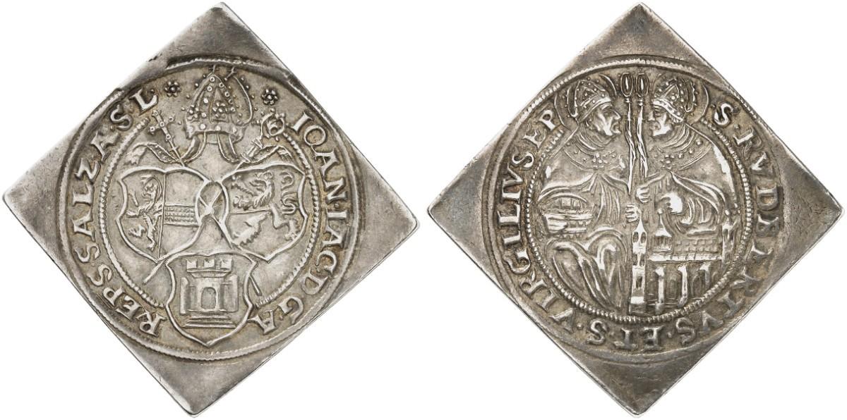 Halbtalerklippe o.J. (1560-1586)  (Foto: Auktionshaus Künker)