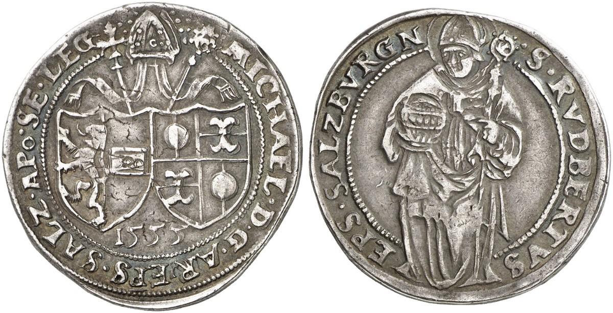 Künker 261: Gulden 1555