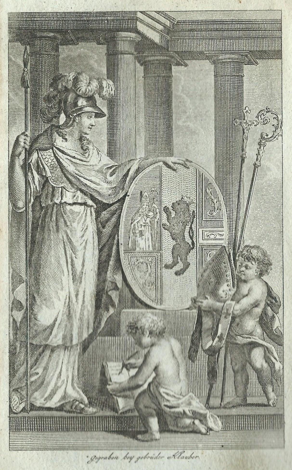 Wappen des Domkapitels, Hofkalender 1796