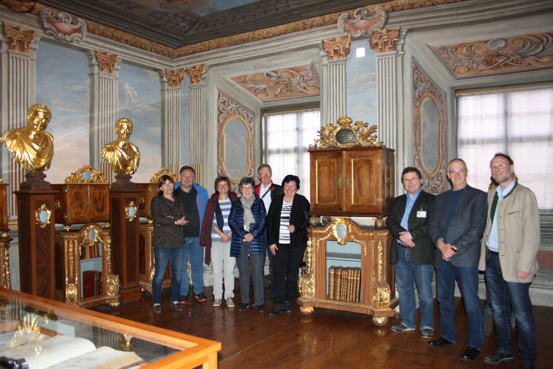 Die SNG im alten Münzkabinett in Gotha