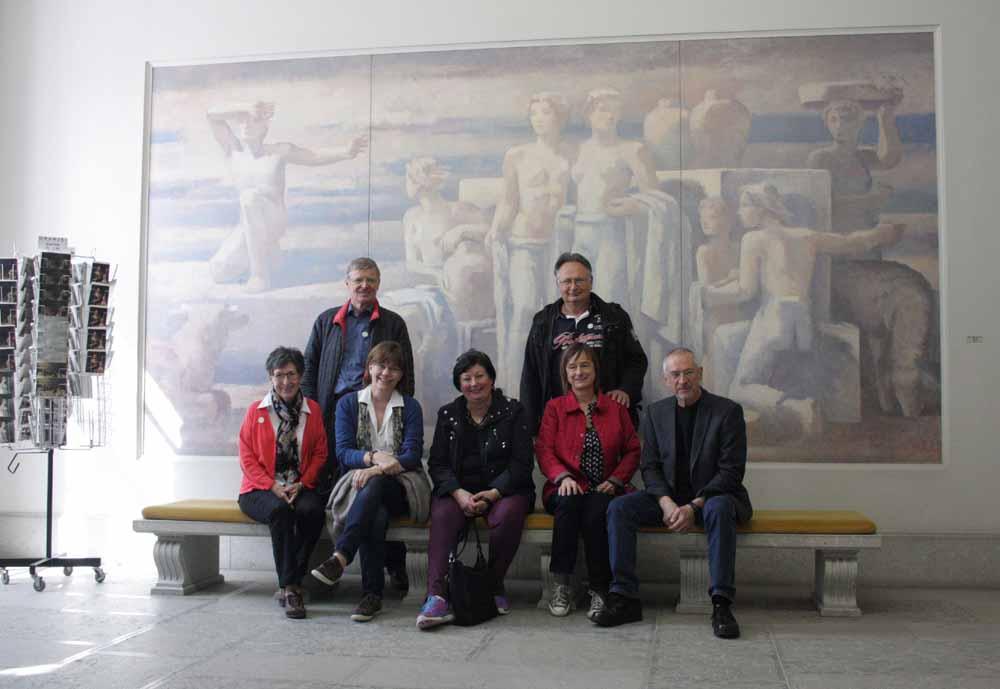 Die Gruppe der SNG im Museum Oskar Reinhart