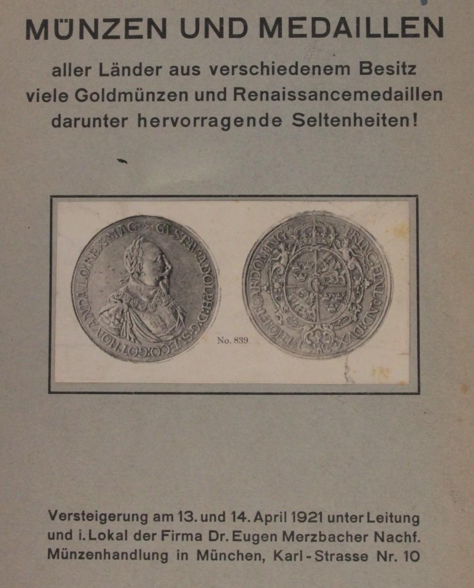 Merzbacher 1921