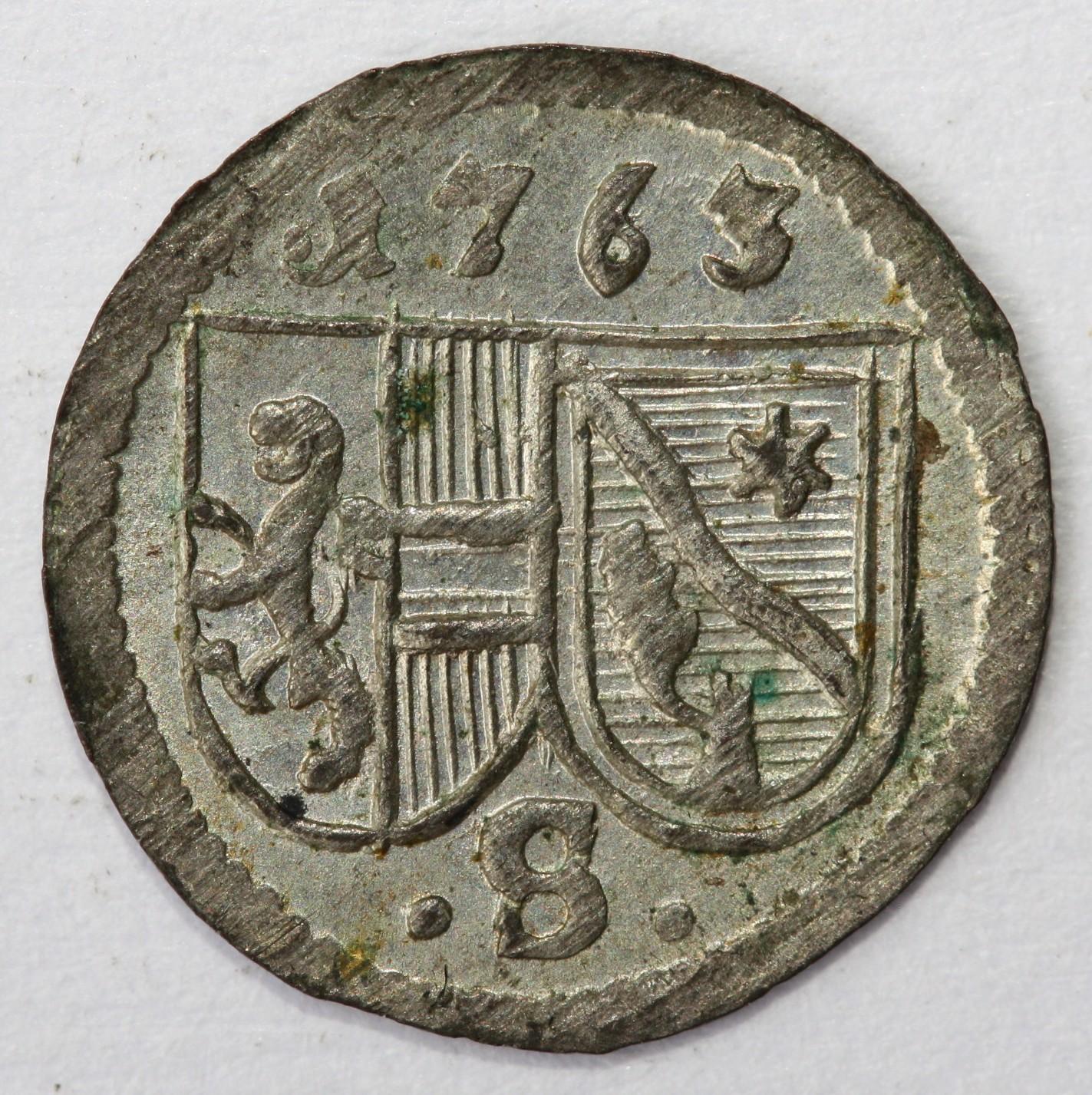 Pfennig 1763