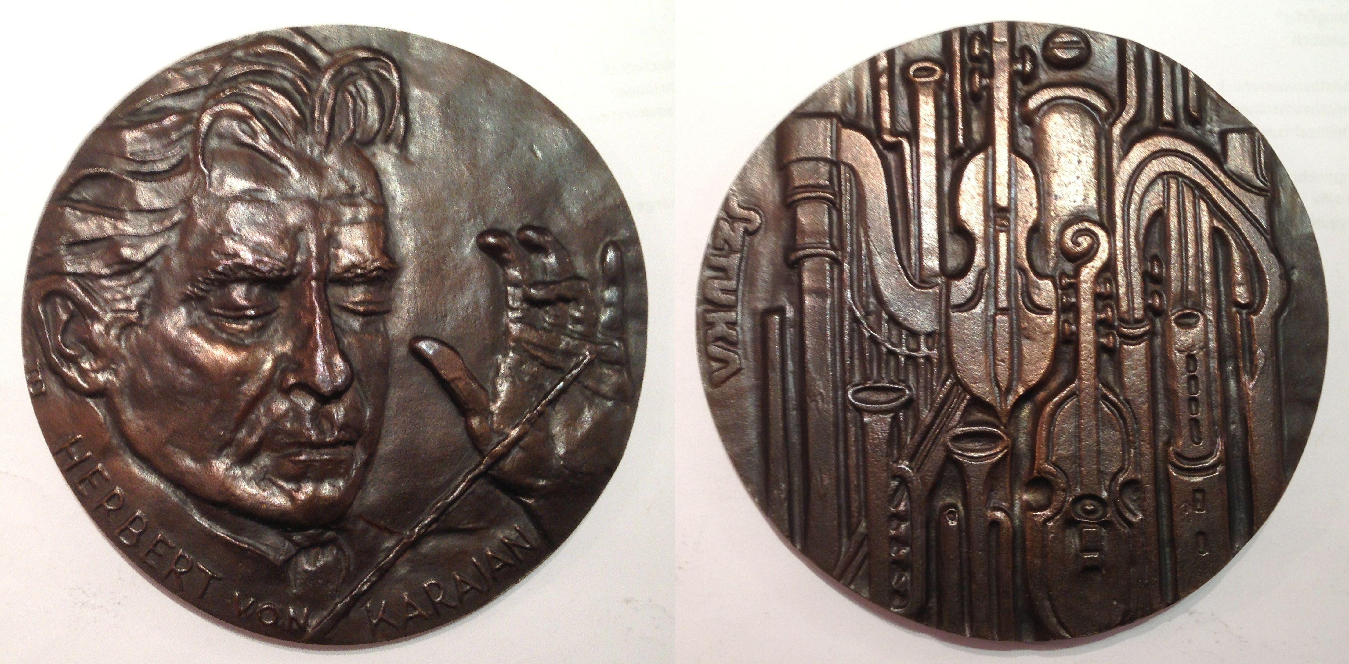 Karajan Medaille von Sztuka