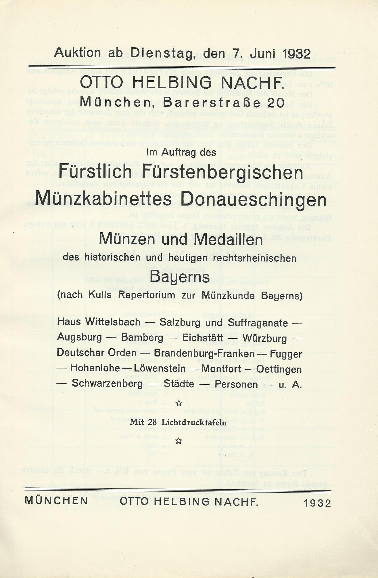 FÜRSTENBERG  SALZBURG