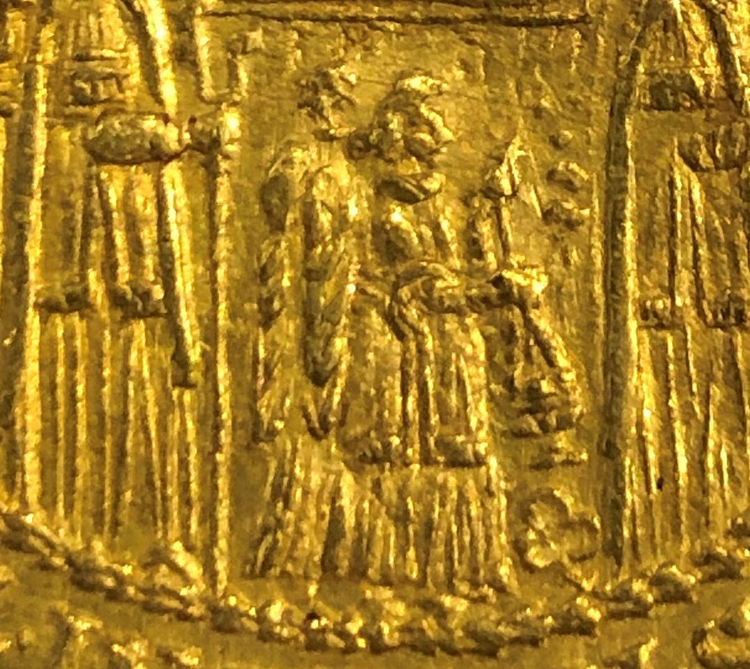 Beizeichen beim 6fachen Domweihdukat 1628