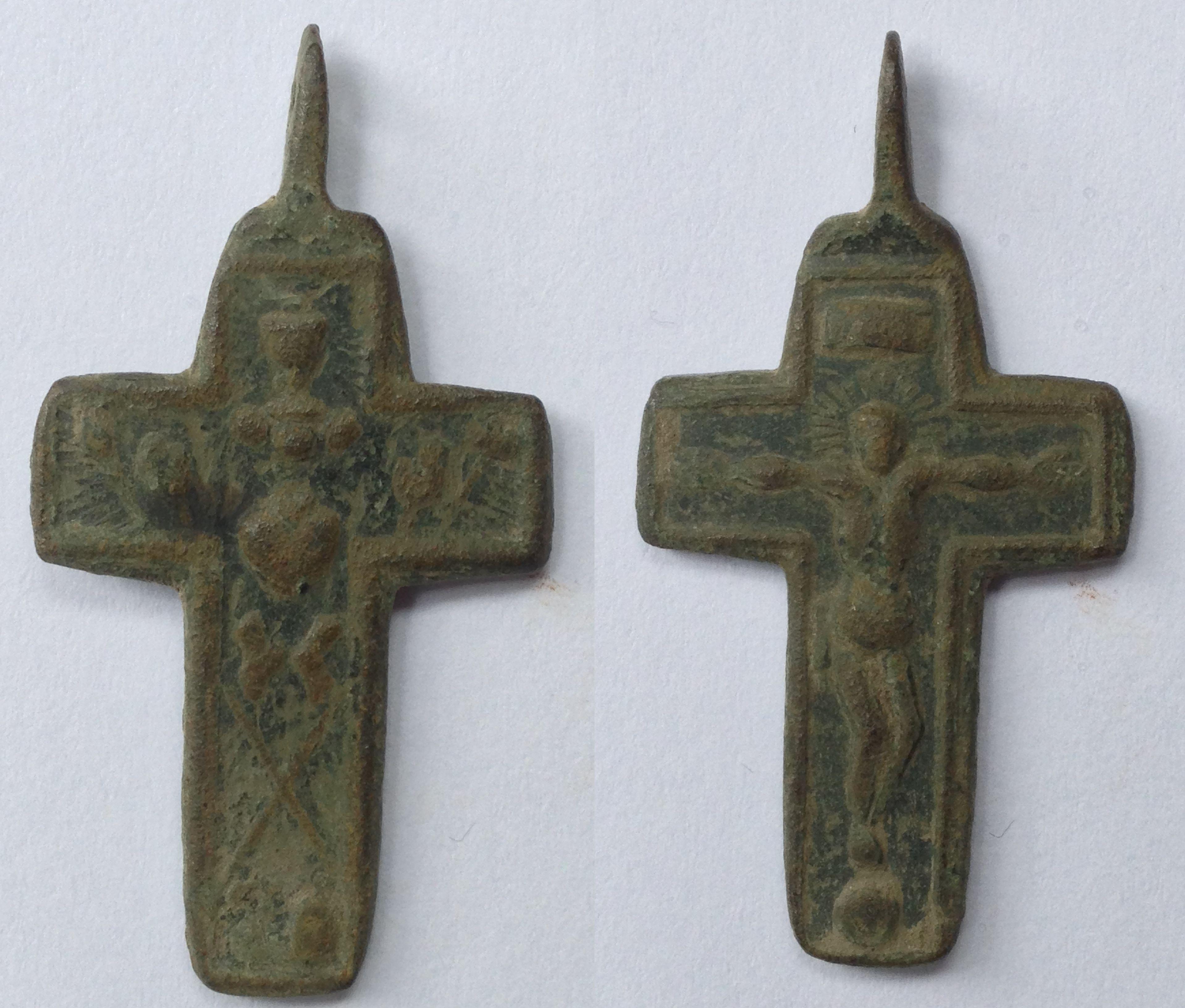 Kreuz 29 / 35 mm mit Henkel
