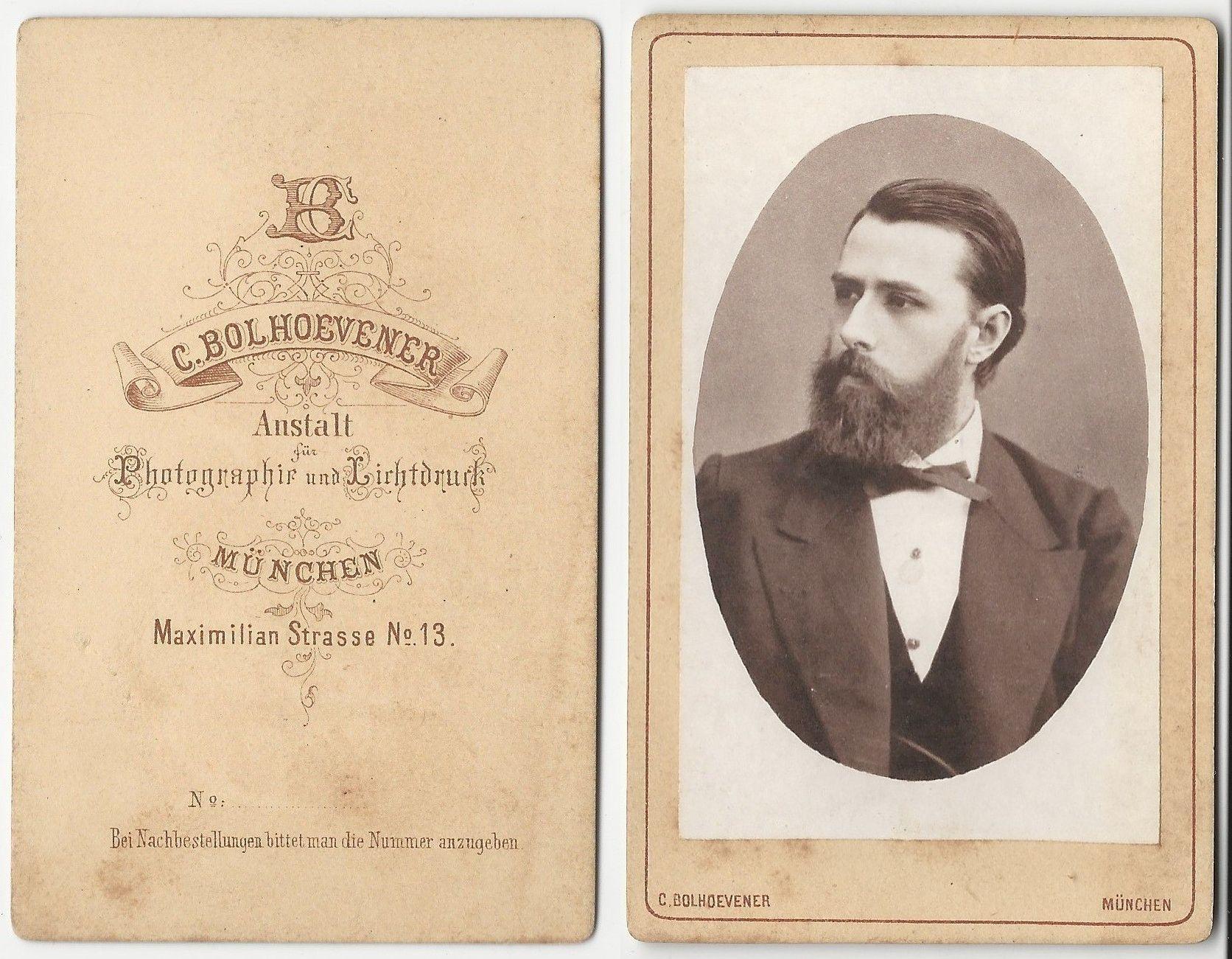 Arnold Luschin, München (ca.1870-1880 ??)