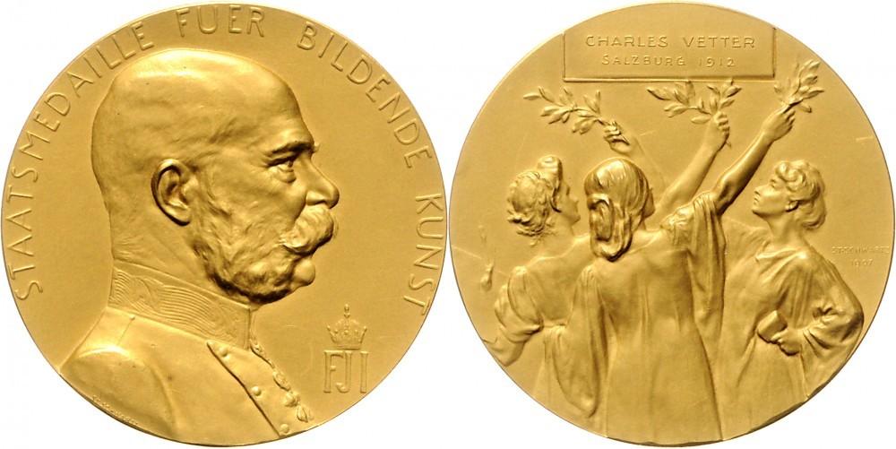 WAG Auktion 74: 12 Dukatenmedaille Salzburg