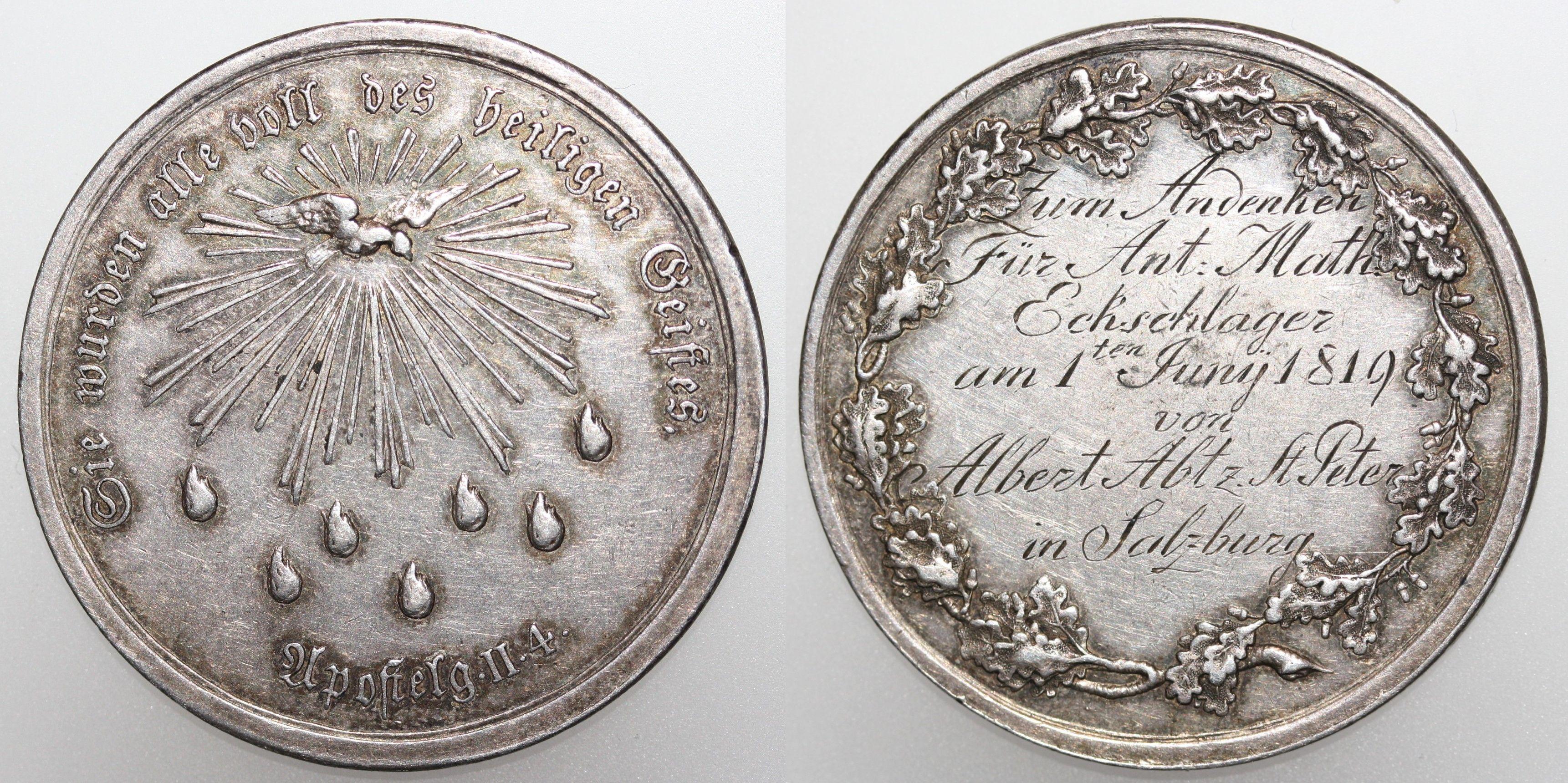 Firmmedaille 1819 St. Peter