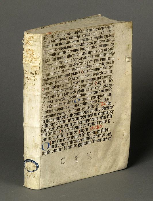 Mittelalterlicher Bucheinband aus Michaelbeuern