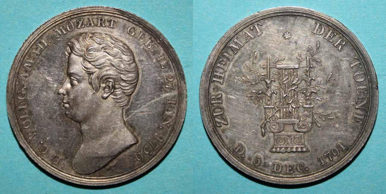 Mozartmedaille 1821 von Voigt