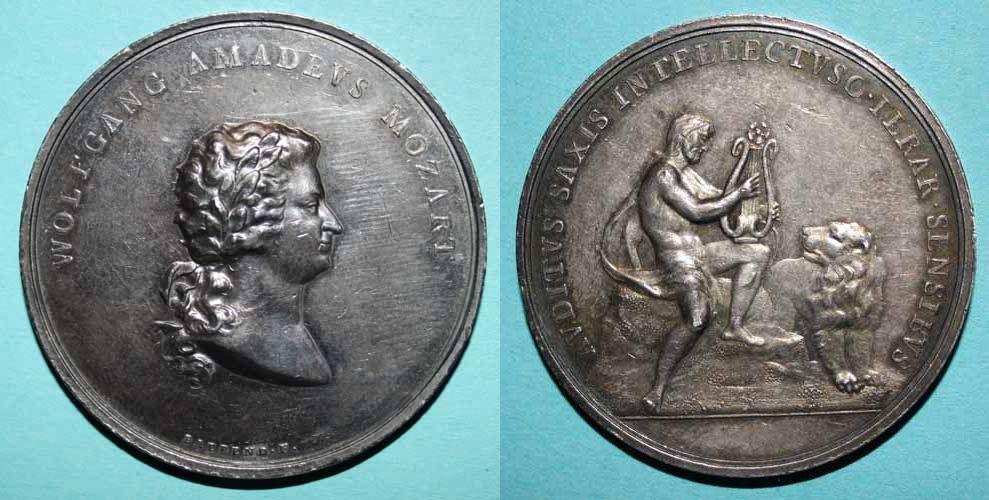 Mozartmedaille 1796 von Baerend
