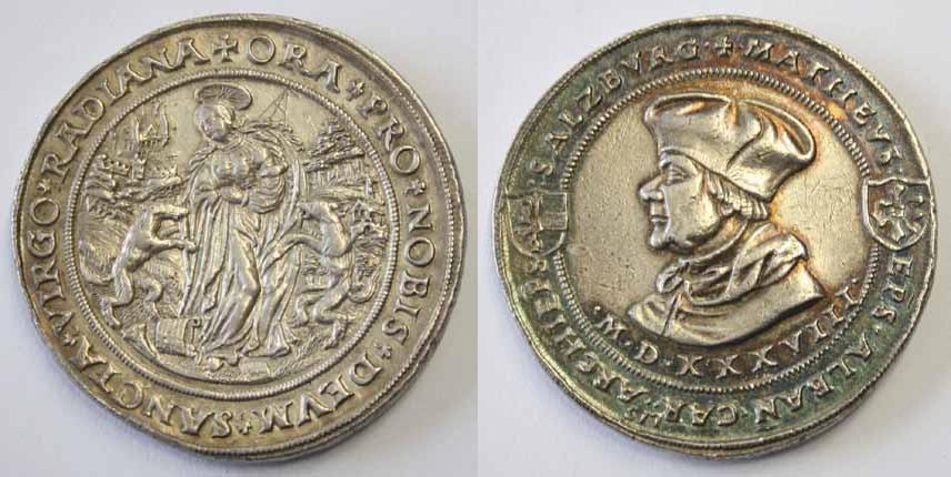 Matheus Lang, RADIANA Doppelguldiner 1538