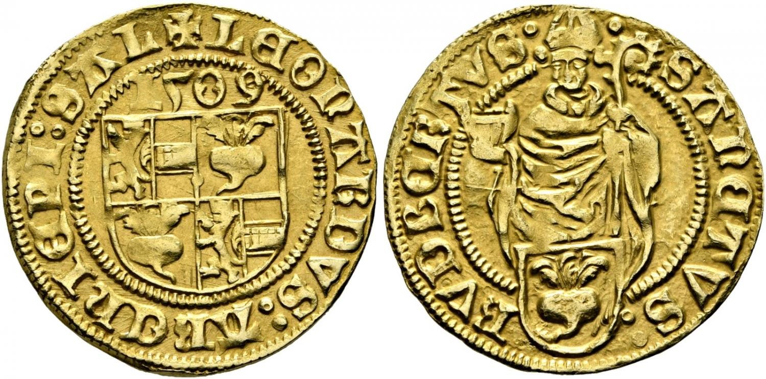 Rauch 107, 1878: Goldgulden 1509