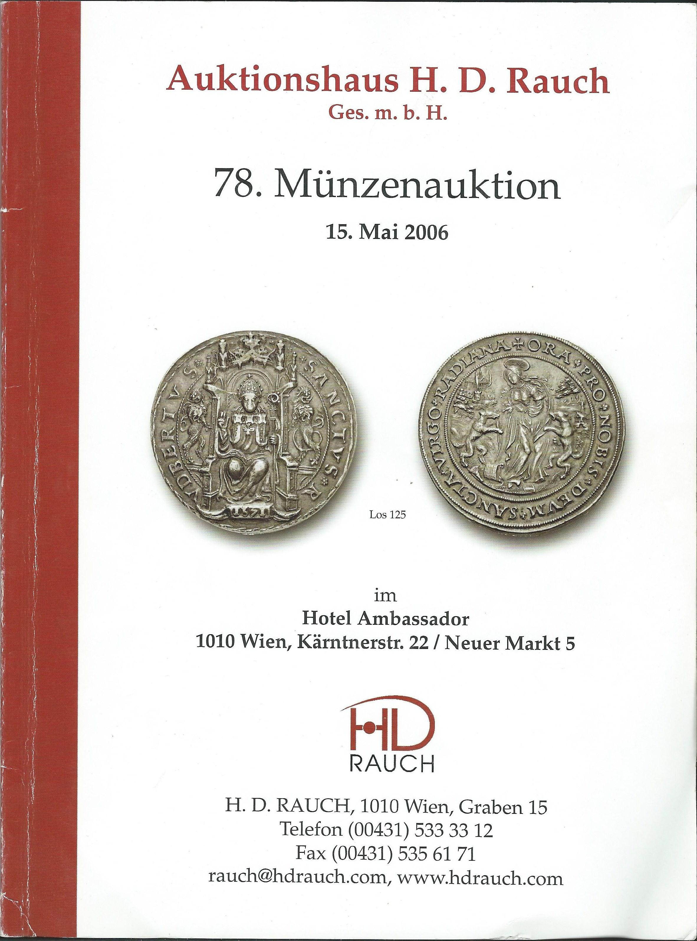 Salzburg Auktion Rauch 2006
