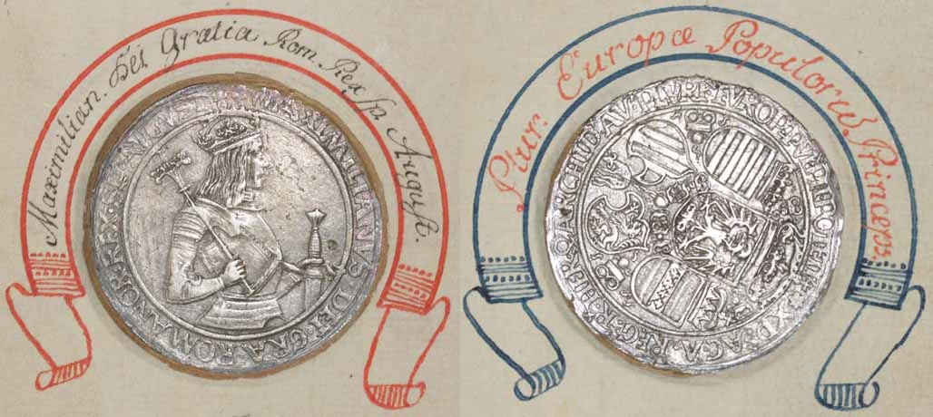 Kaiser Maximilian 1.: Guldiner o.J. Hall