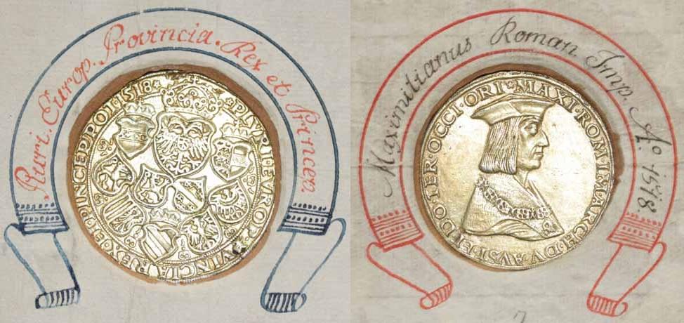 Kaiser Maximilian 1.: Guldiner 1518 St. Veit