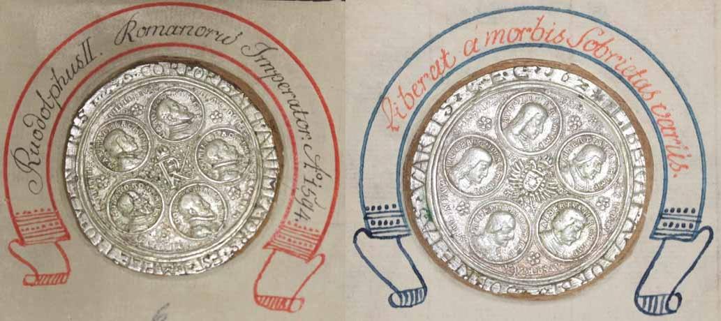 Zehnkaisermedaille 1594