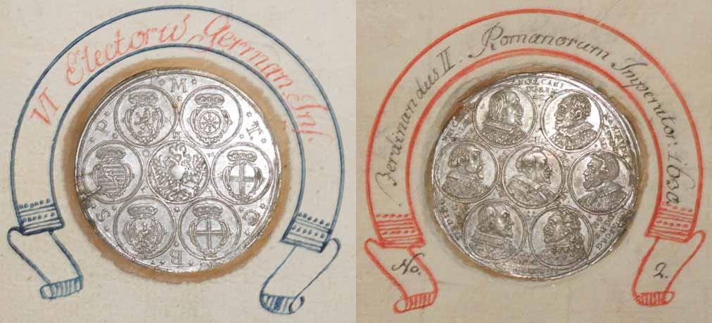Mainz, Medaille 1630 auf den Reichstag zu Regensburg