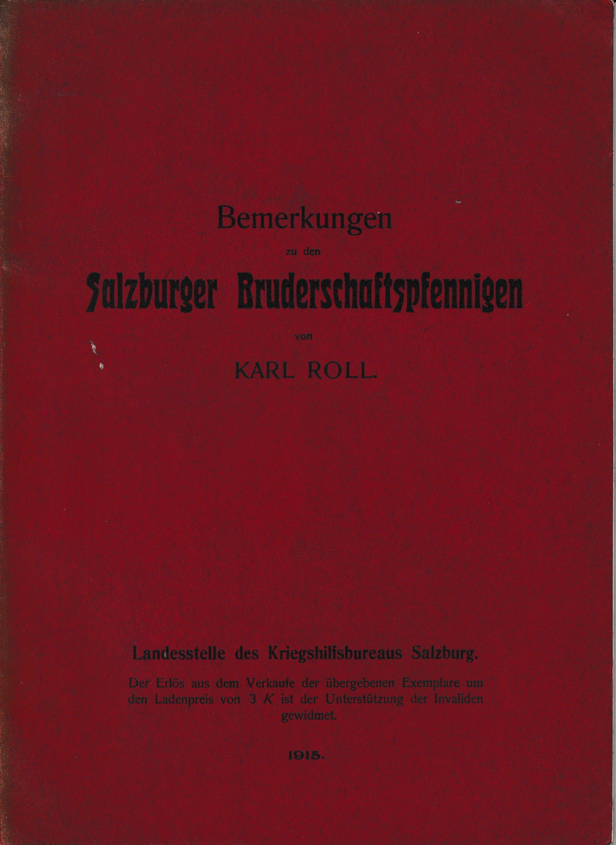 karl roll bemerkungen zu den salzburger bruderschaftspfennigen-pdf