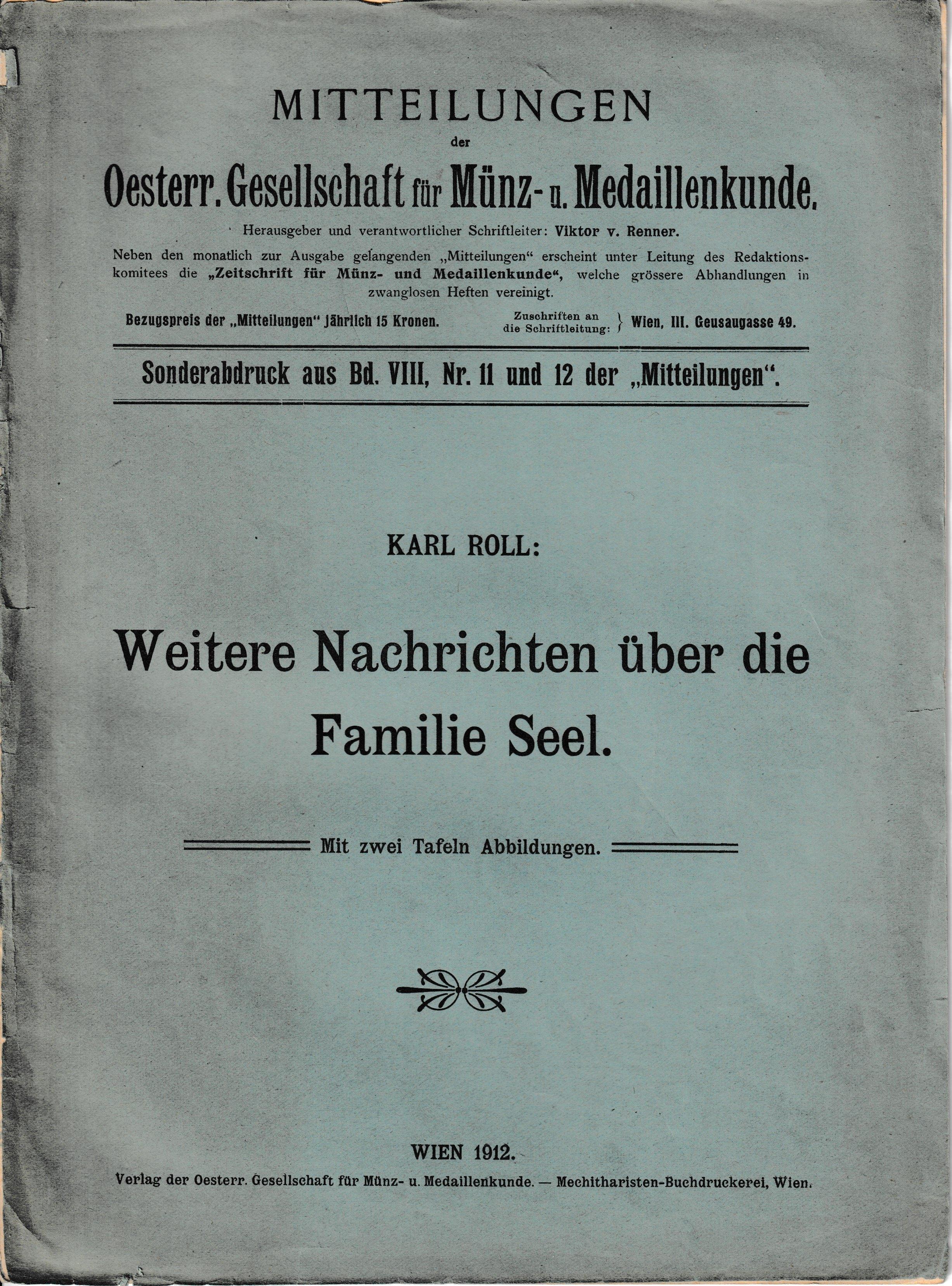 karl roll  weitere nachrichten über die familie seel -pdf