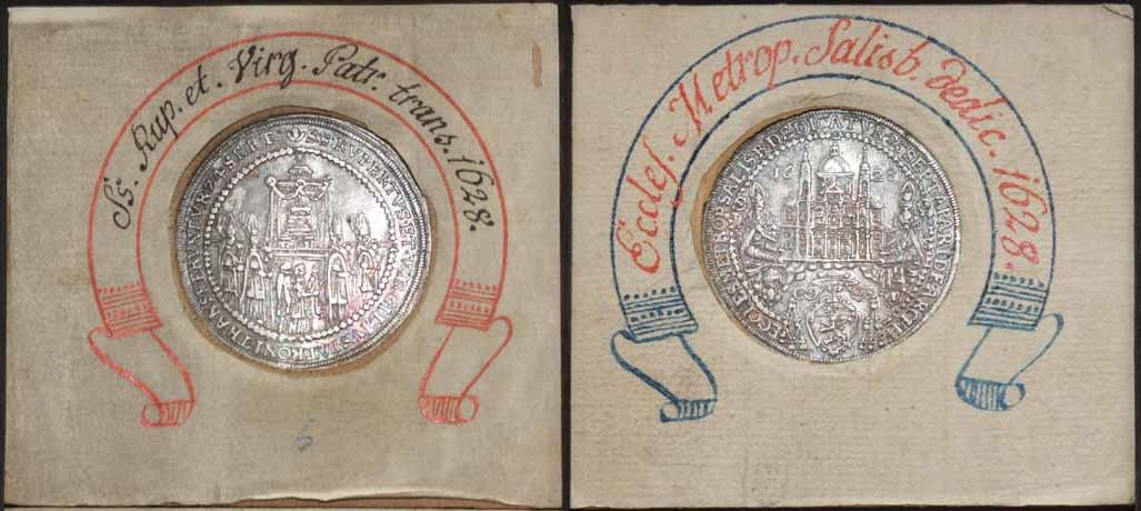 Salzburg: Halber Domweihtaler 1628
