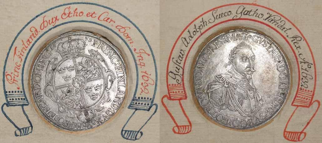 Gustav Adolf, Taler 1632