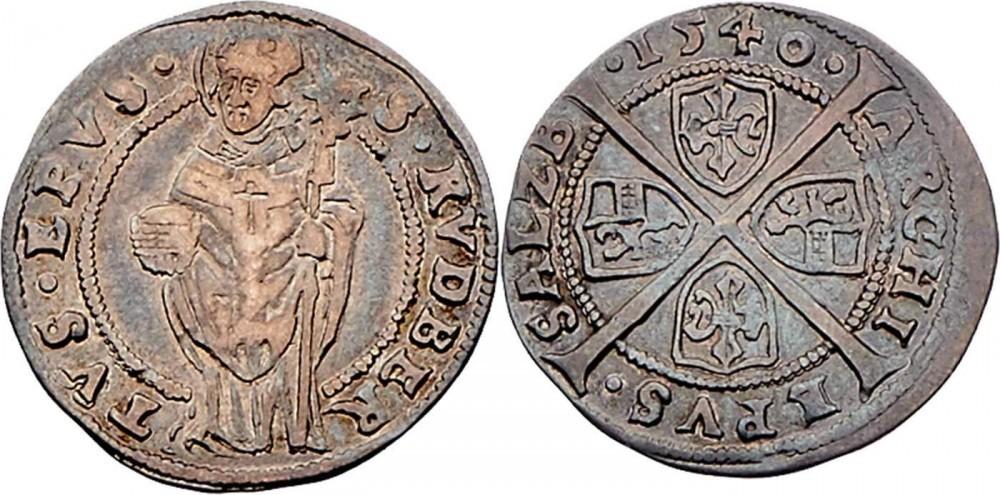 Sechser 1540, Dr. Frühwald,Auktion 120 - höchstselten