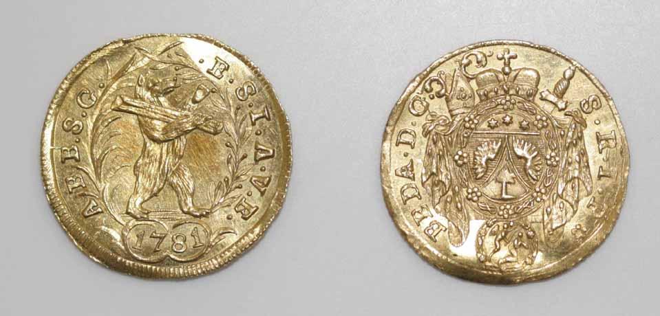 Sankt Gallen, Dukat 1781