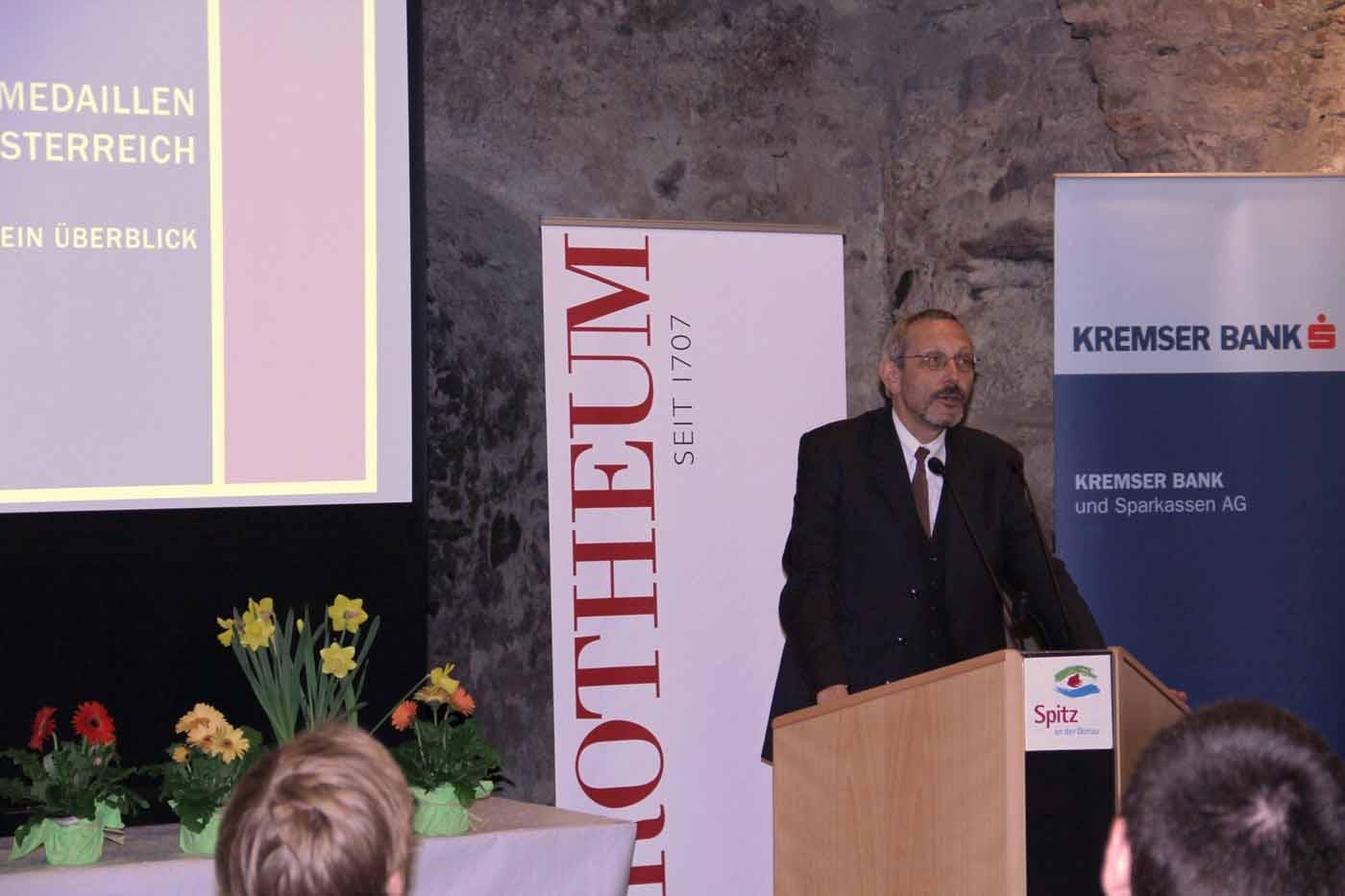 Wachauer Münzbörse 2013; Dr. Bernhard Prokisch