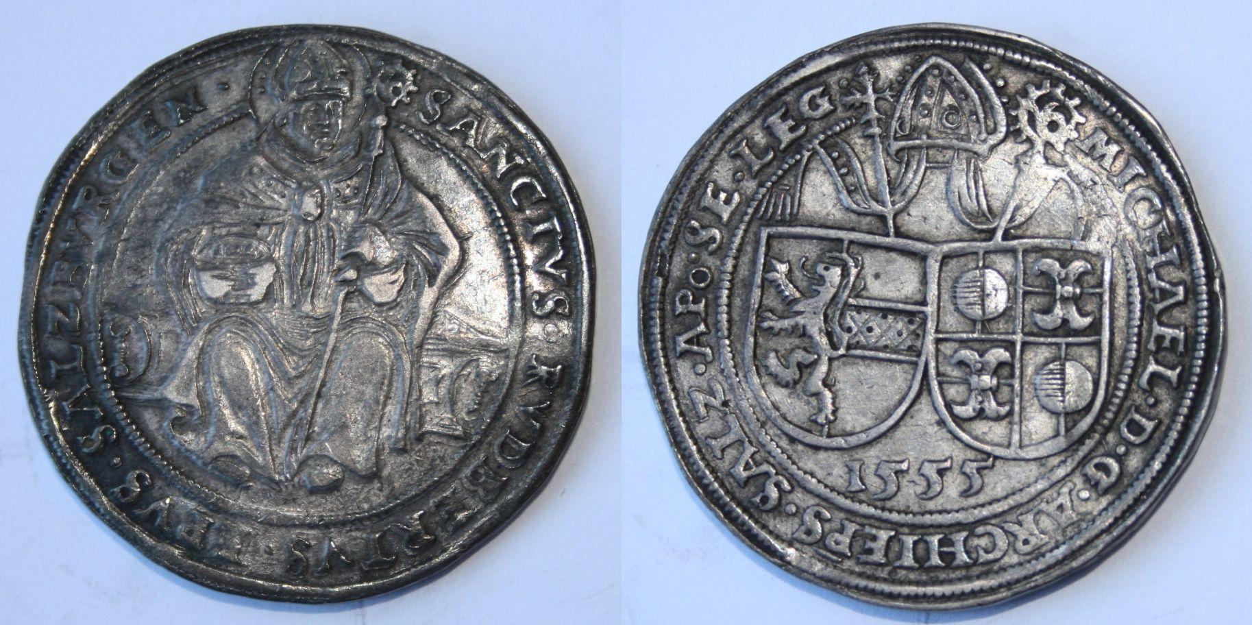 Guldiner 1555, Münzkabinett Gotha 3.2./5537
