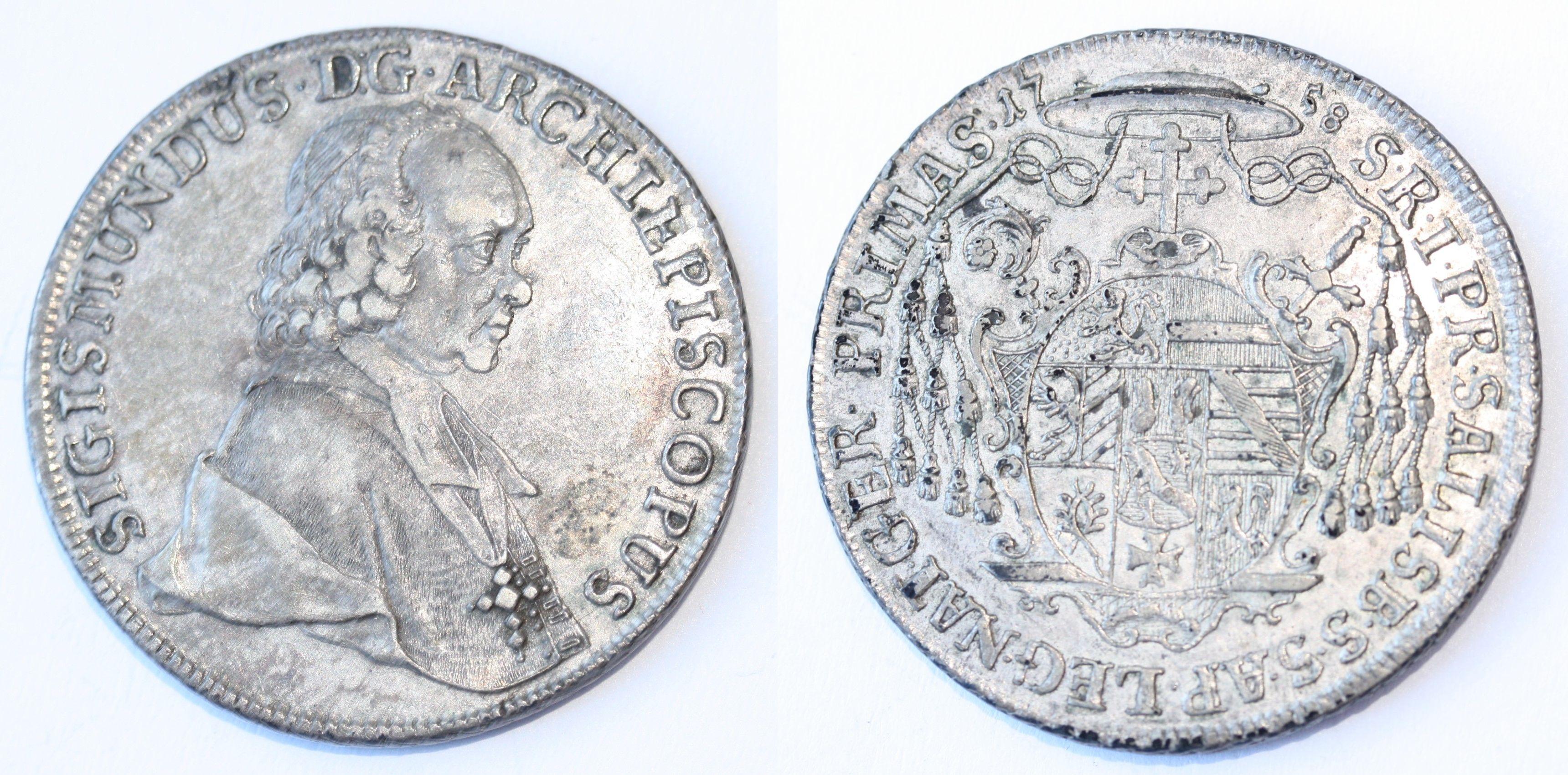 Taler 1758, Münzkabinett Gotha,Inv. 3.2./5613