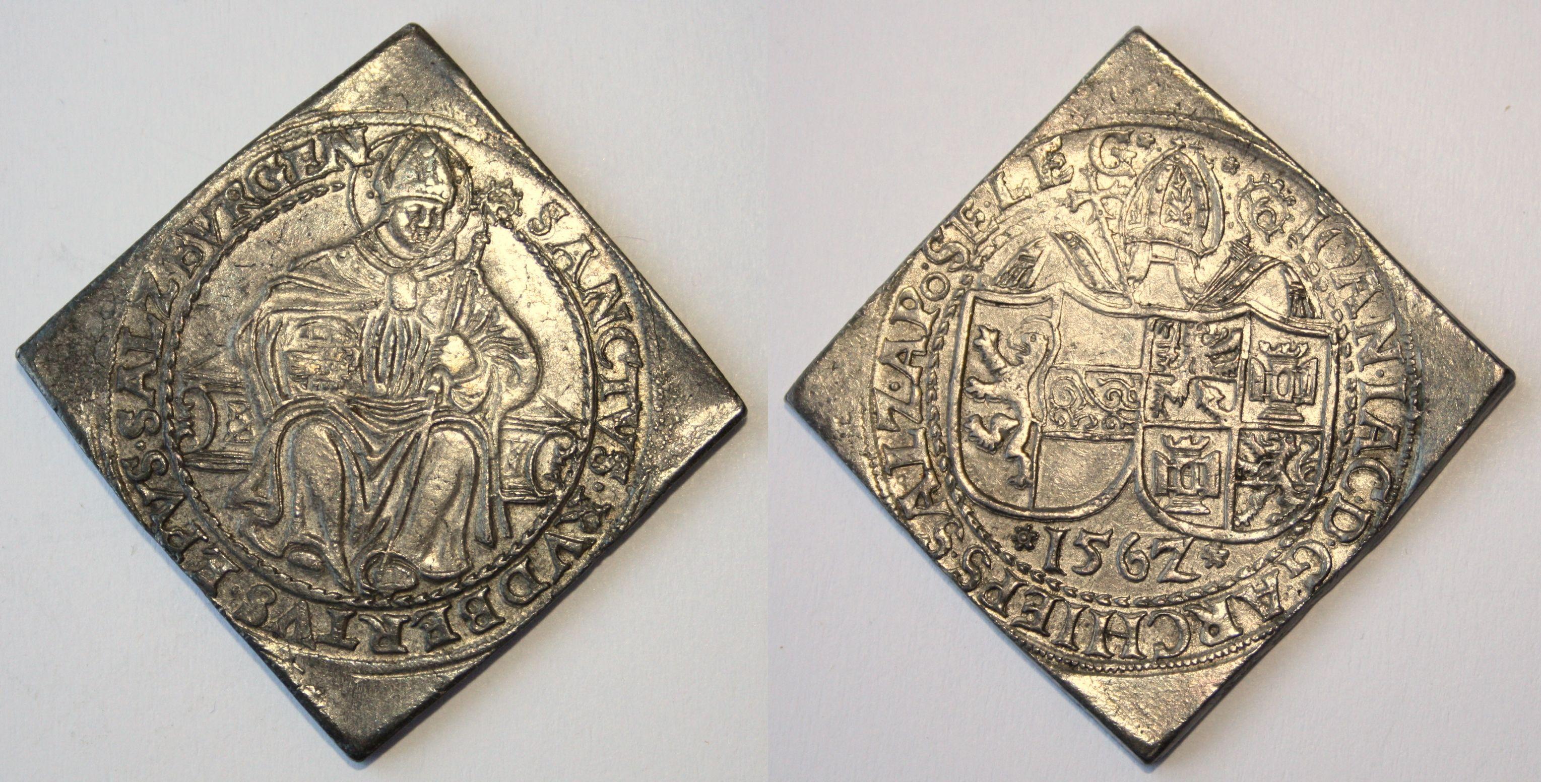 Talerklippe 1562, Münzkabinett Gotha, UNEDIERT !