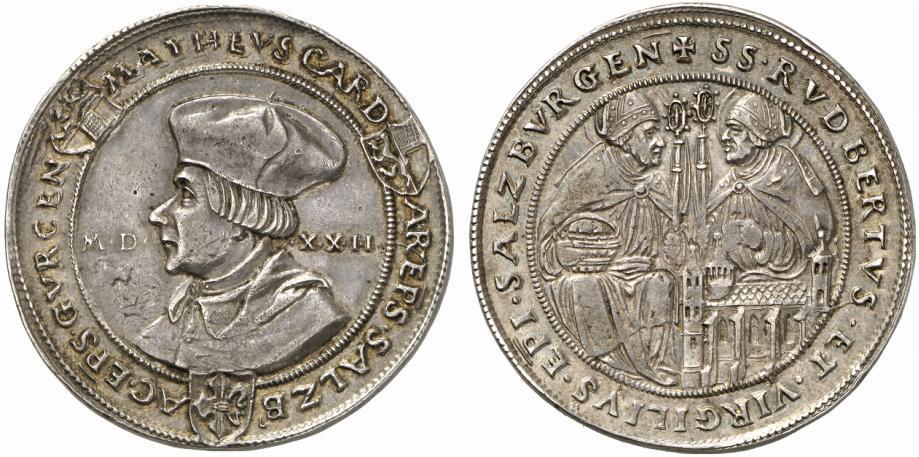 Matheus Lang, Guldiner 1522 mit Rupert und Virgil