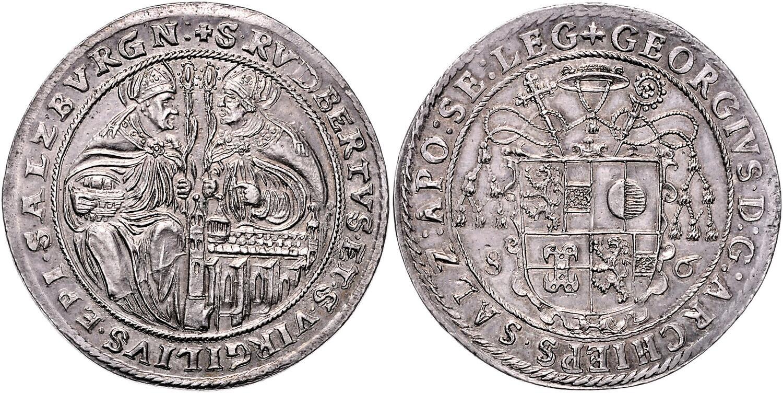 Taler 1586, Auktionen Frühwald