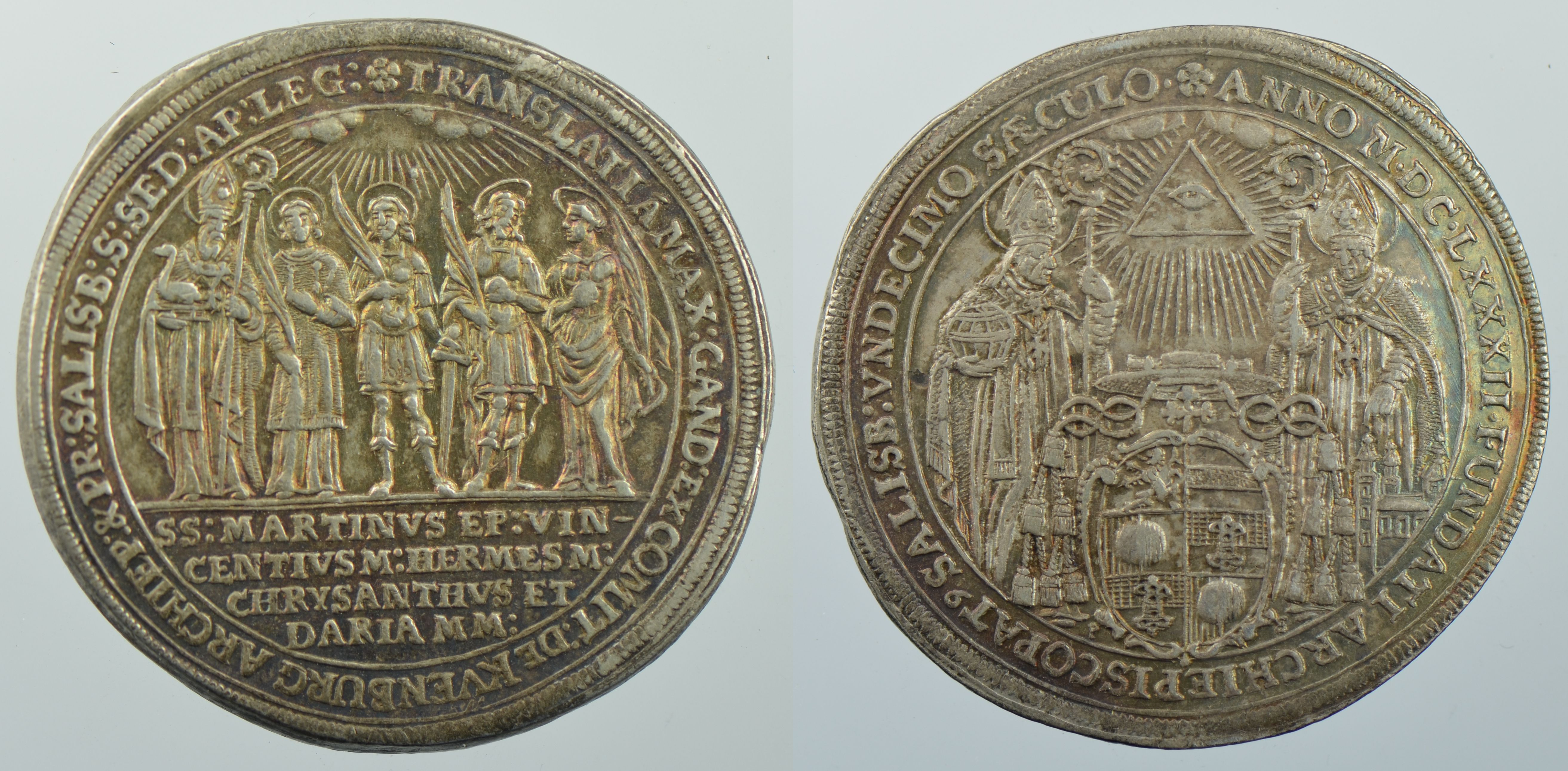 Taler 1682 auf das Stiftsjubiläum, Schweizer Nationalmuseum