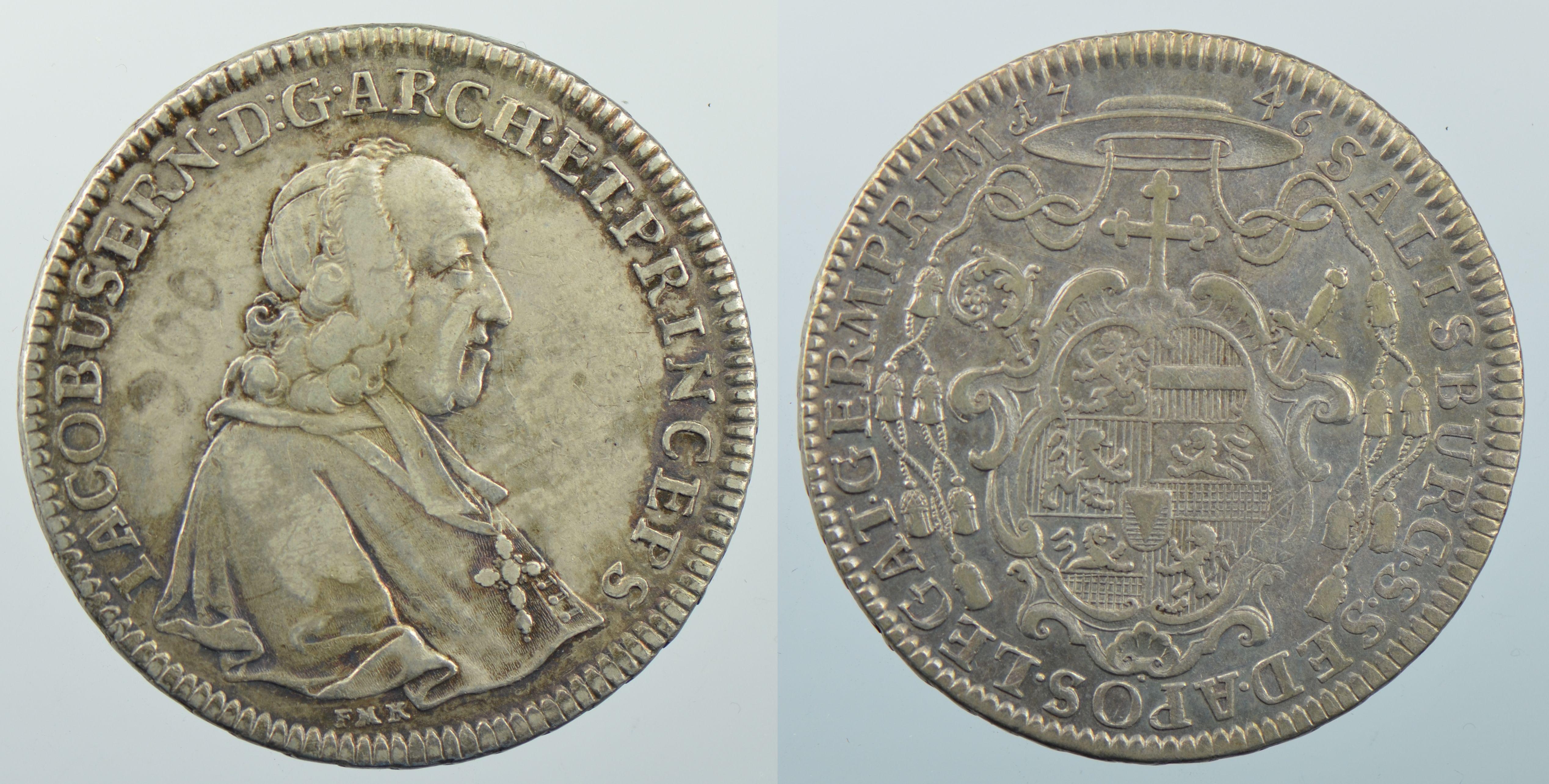 Taler 1746, Schweizer Nationalmuseum