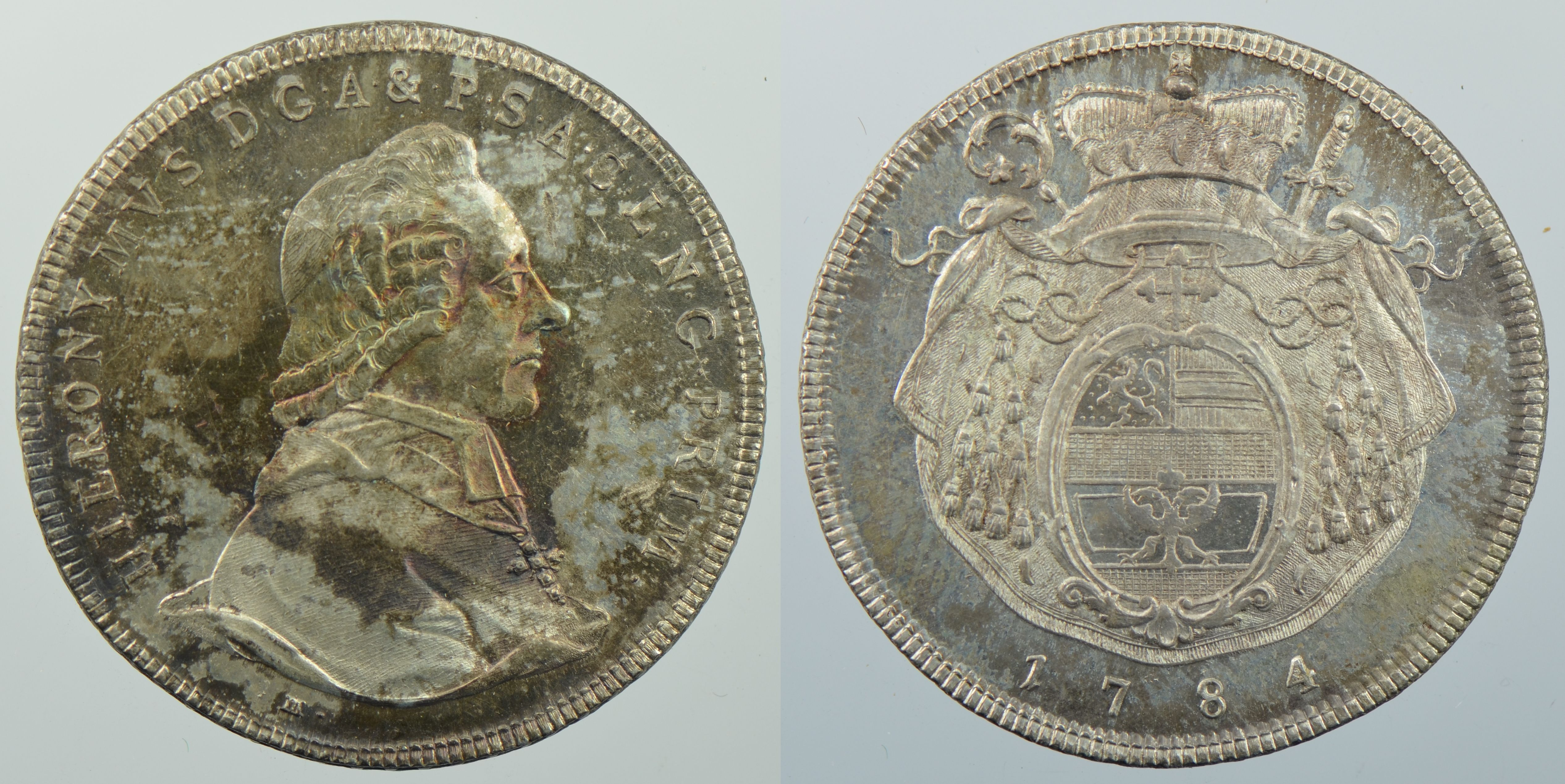Taler 1784, Schweizer Nationalmuseum
