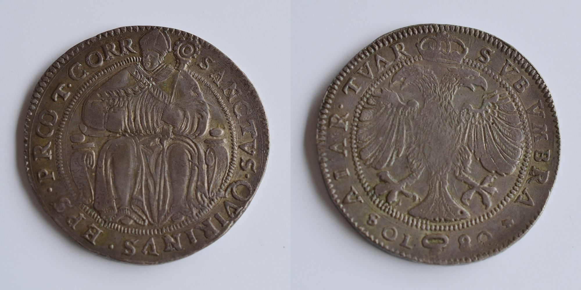 Taler aus Correggio der Familie dÀustria, Roll 3 (Bild: Privatbesitz)