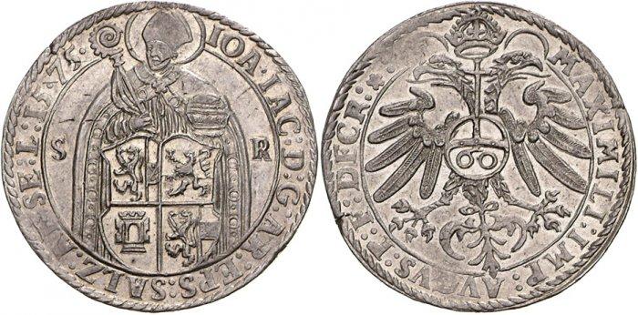 Guldentaler 1575, WAG Auktion 56.