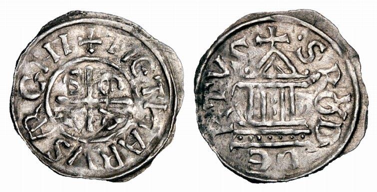 Denar des Erzbischofs Tietmar