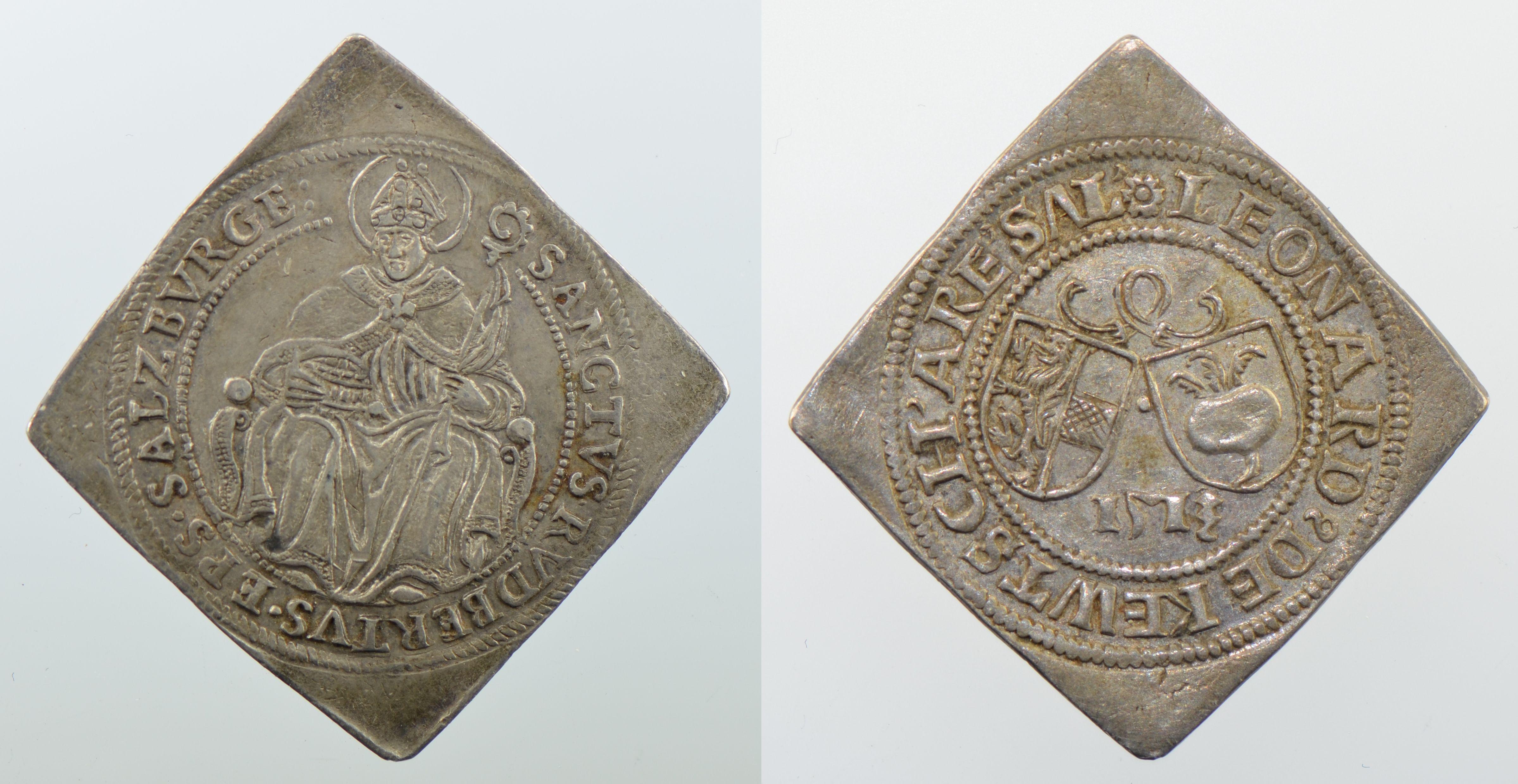 Zwittervierteltalerklippe 1513/o.J., Schweizer Nationalmuseum